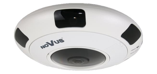 "Антивандальная IP камера с объективом ""Рыбий глаз"" NVIP-6DN5060V/IRH-2P"