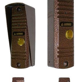 AVC-305 PAL (медь) Цветная вызывная видеопанель для видеодомофонов